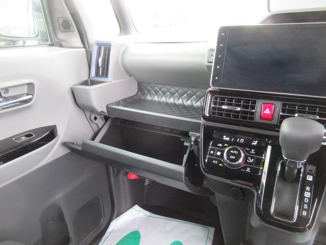 カスタムX 4WD ETC LEDライト エンジンスターター プッシュスタート 純正ナビ・TV ドライブレコーダー 左右パワースライドドア シートヒーター スマートアシスト ハーフレザーシート オートハイビーム(13枚目)