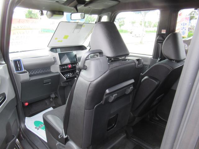 カスタムX 4WD ETC LEDライト エンジンスターター プッシュスタート 純正ナビ・TV ドライブレコーダー 左右パワースライドドア シートヒーター スマートアシスト ハーフレザーシート オートハイビーム(32枚目)