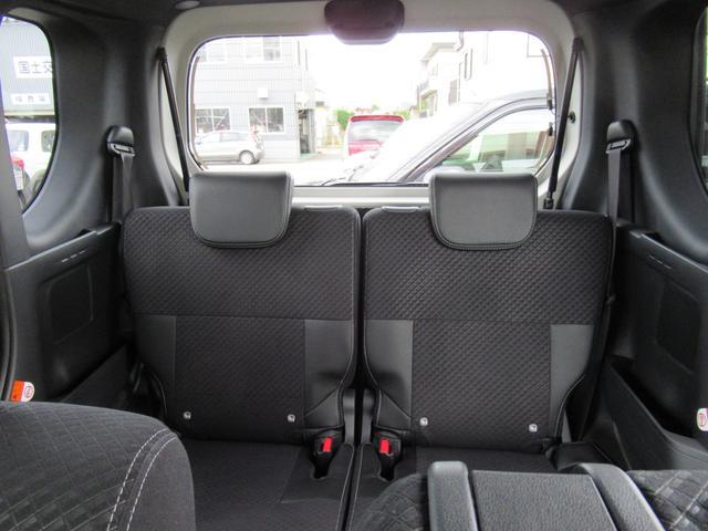 カスタムX 4WD ETC LEDライト エンジンスターター プッシュスタート 純正ナビ・TV ドライブレコーダー 左右パワースライドドア シートヒーター スマートアシスト ハーフレザーシート オートハイビーム(33枚目)