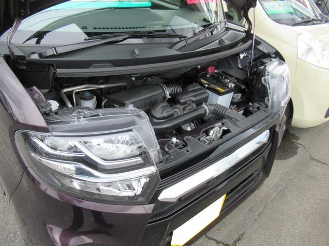 カスタムX 4WD ETC LEDライト エンジンスターター プッシュスタート 純正ナビ・TV ドライブレコーダー 左右パワースライドドア シートヒーター スマートアシスト ハーフレザーシート オートハイビーム(43枚目)