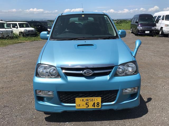 カスタムL 4WD 軽自動車 ブルー 5速MT AC(2枚目)