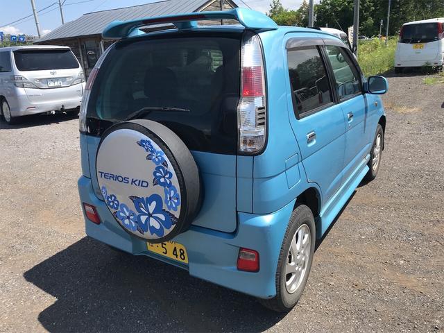 カスタムL 4WD 軽自動車 ブルー 5速MT AC(6枚目)