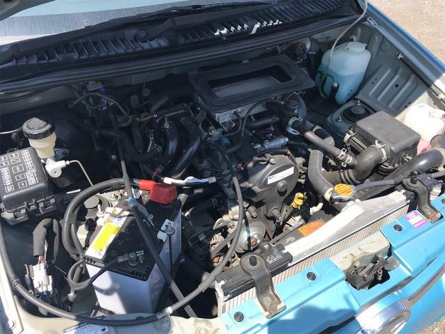 カスタムL 4WD 軽自動車 ブルー 5速MT AC(12枚目)