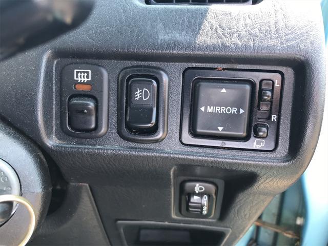 カスタムL 4WD 軽自動車 ブルー 5速MT AC(15枚目)