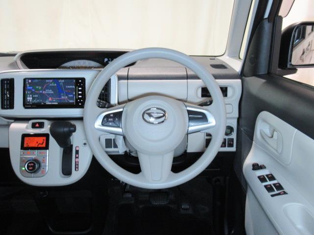☆ハンドル周り☆視界も広く運転しやすいです!