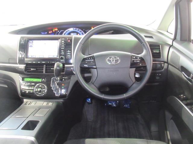 アエラス サイドリフト 福祉車両 4WD フルセグ HDDナビ DVD再生 ミュージックプレイヤー接続可 バックカメラ ETC 両側電動スライド 乗車定員7人 3列シート アイドリングストップ(7枚目)