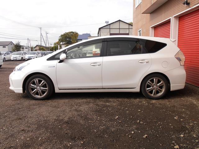 「トヨタ」「プリウスアルファ」「ミニバン・ワンボックス」「北海道」の中古車8