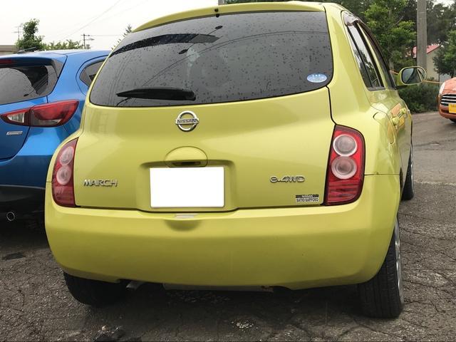 「日産」「マーチ」「コンパクトカー」「北海道」の中古車5