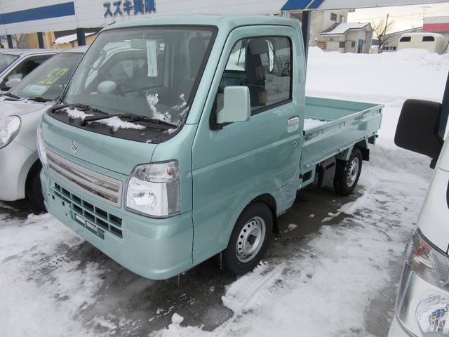 スズキ キャリイトラック KCスペシャル4WD ABS付 スタッドレス付