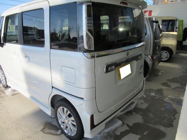 「スズキ」「スペーシアカスタム」「コンパクトカー」「北海道」の中古車4