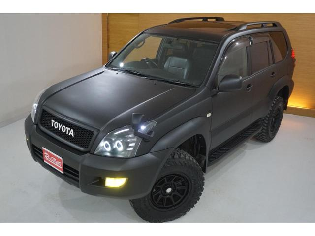 TXリミテッド 本州仕入・マットブラック全塗装済・新品MUDVANCE17AW&ジオランダー・社外新品ヘッドライト・テール・HID・LEDフォグ・フロントグリル・サンルーフ・リフトUP・社外マフラー・シートカバー(11枚目)
