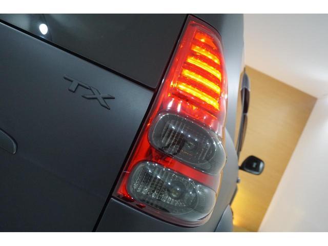 TXリミテッド 本州仕入・マットブラック全塗装済・新品MUDVANCE17AW&ジオランダー・社外新品ヘッドライト・テール・HID・LEDフォグ・フロントグリル・サンルーフ・リフトUP・社外マフラー・シートカバー(44枚目)