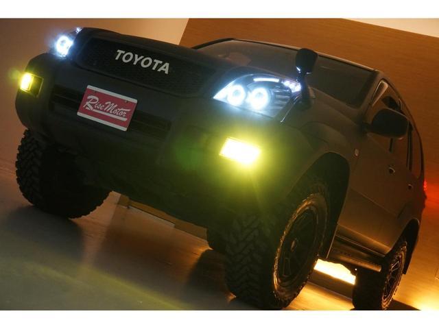 TXリミテッド 本州仕入・マットブラック全塗装済・新品MUDVANCE17AW&ジオランダー・社外新品ヘッドライト・テール・HID・LEDフォグ・フロントグリル・サンルーフ・リフトUP・社外マフラー・シートカバー(74枚目)