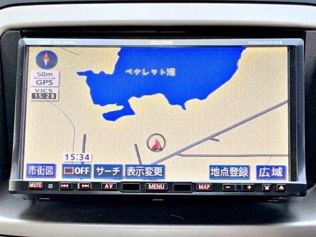 4WD X夏冬タイヤ付 サビ無禁煙車HDDナビフルセグ(4枚目)
