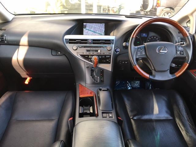 レクサス RX RX450hバージョンL ムーンルーフ パワーバックドア