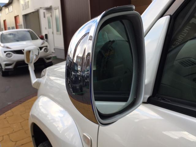 トヨタ ランドクルーザープラド TX MKW20インチ サンルーフ ルーフレール