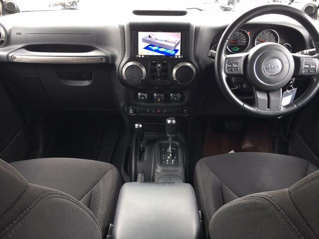 クライスラー・ジープ クライスラージープ ラングラーアンリミテッド スポーツ リフトアップ HDDナビ クルコン