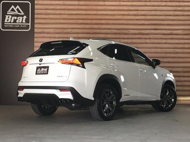 NX300h Fスポーツ 4WD サンルーフ TRDマフラー(3枚目)
