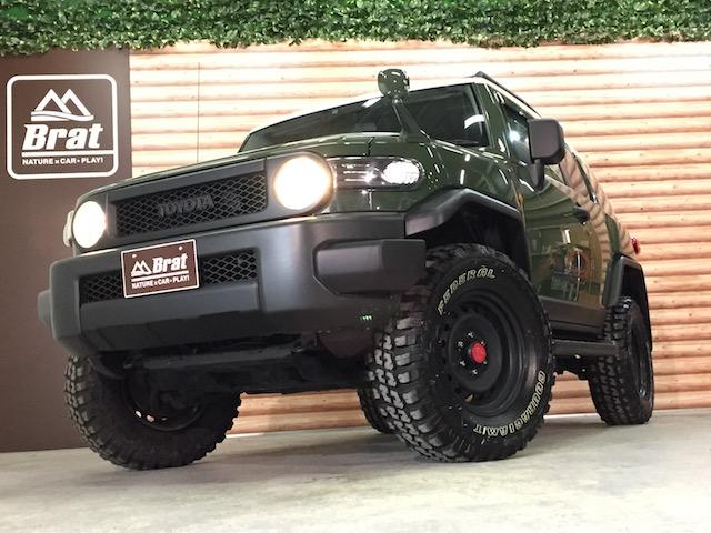 4WD リフトアップ フェデラルA/T5本 各所黒塗装(5枚目)