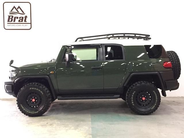 4WD リフトアップ フェデラルA/T5本 各所黒塗装(10枚目)