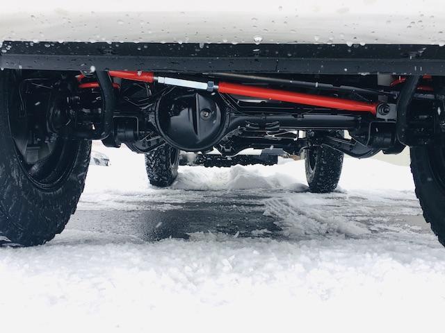 XC 禁煙車 Bratカスタム FARMコ2incリフトUPキット 新品16AW&ヨコハマジオランダーM/T  スモークウインカー ハニカムメッシュグリル Sタイヤ移動ブラケット(16枚目)