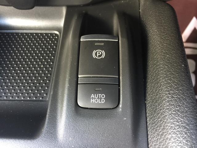 自動パーキングブレーキが搭載されております!また、信号待ちなどで重宝するブレーキホールドも搭載されております!!