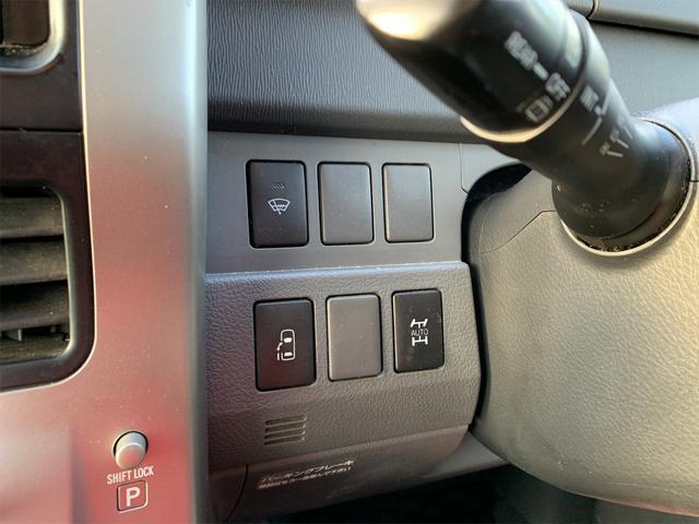 X Lエディション 4WD キーレス 社外ナビTVフルセグ 社外17インチAW 左側Pスライドドア HIDヘッドライト LEDフォグランプ 寒冷地仕様(28枚目)