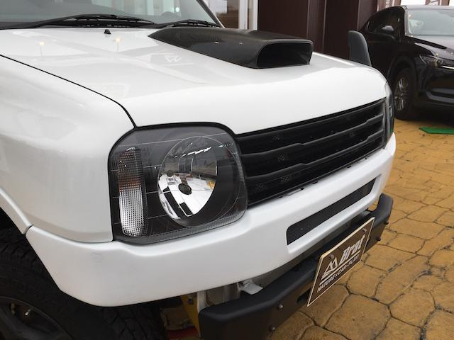 スズキ ジムニー XG 4WD 社外SDナビ リフトアップ ワンオーナー