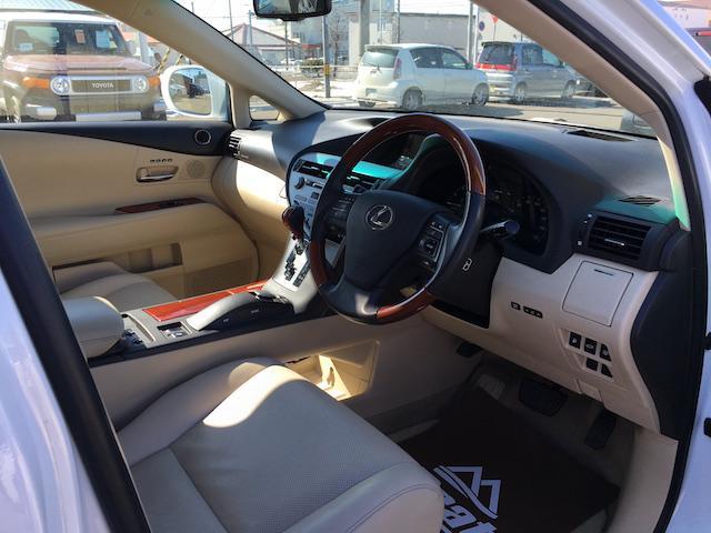 レクサス RX RX450h バージョンL ワンオーナー サンルーフ HUD