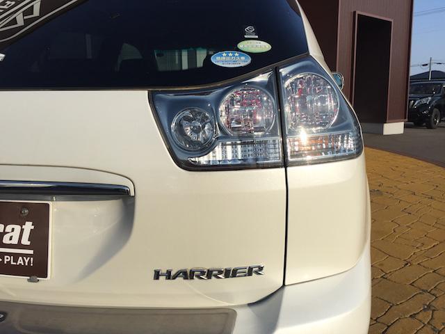 トヨタ ハリアー 240G Lパッケージ 純正HDDナビ バックカメラ MSV