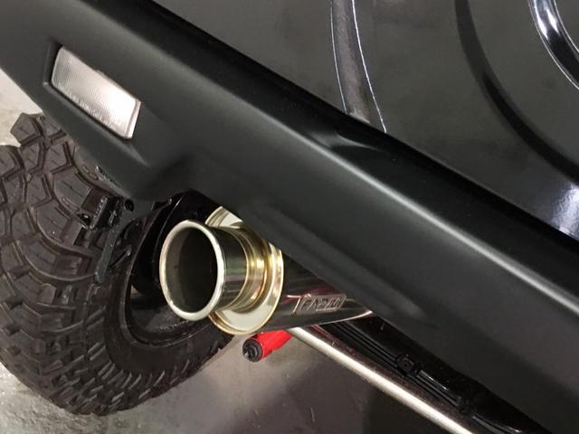 ランドベンチャー 2インチリフトアップ ブラックアウトカスタム ルーフラック BratX02ホイール マキシス新品タイヤ Bratリアウィング パナソニックSDナビ LEDテールランプ シートヒーター FARMマフラー(40枚目)