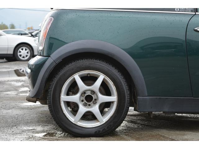MINI MINI クーパー 5速マニュアル スタッドレスタイヤ