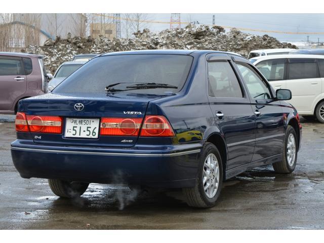 「トヨタ」「ビスタ」「セダン」「北海道」の中古車3