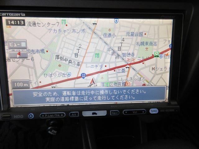 カスタムL ターボ 社外HDDナビ フルセグTV 4WD(9枚目)