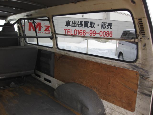 ロングDX 4WD AT 寒冷地仕様 夏冬タイヤ付き(17枚目)