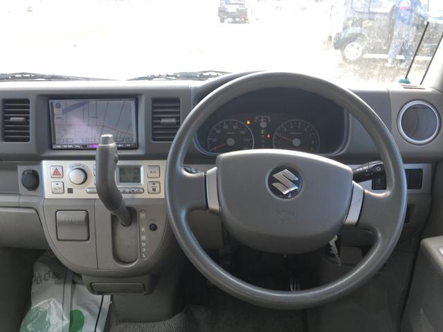 スズキ エブリイワゴン 4WD キーレス シートヒーター ナビ TV CD