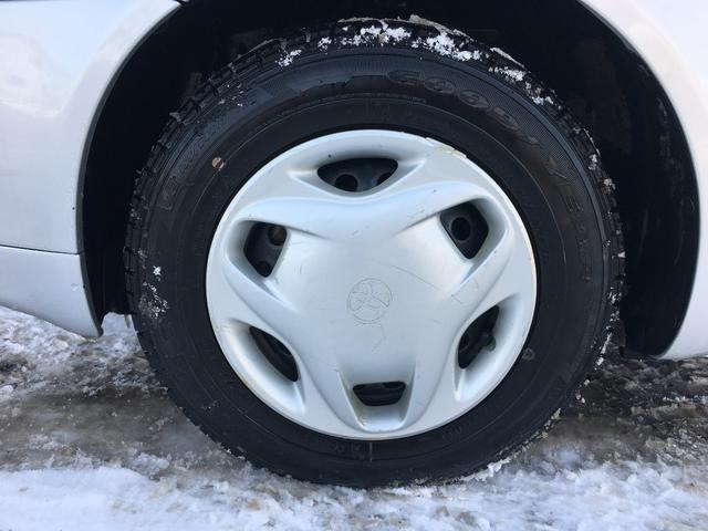 トヨタ プラッツ 1.0F ワンオーナー 夏冬タイヤ付き