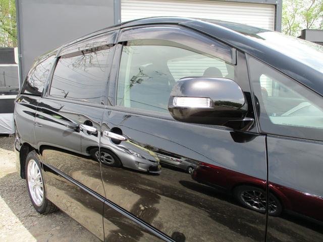 2.4アエラス Gエディション 4WD・純正ナビ・フルセグTV・Bカメラ・Bluetooth・後席フリップダウンモニター・両側パワースライドドア・HID・ETC・スマートキー・プッシュS・クルーズコントロール・寒冷地車・夏冬タイヤ付(44枚目)