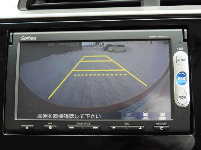 ホンダ フィット 13G・Fパッケージ4WD ギャザズナビリアカメラ