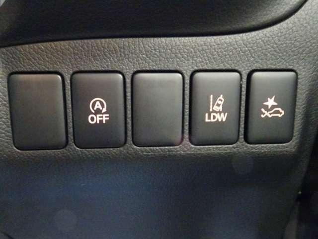 24Gセーフティパッケージ Eアシスト 追突軽減ブレーキ 車線逸脱警報 レーダークルーズコントロール オートマチックハイビーム 横滑り防止 ナビ ETC LEDヘッドライト ステアリングヒーター 4WD(13枚目)