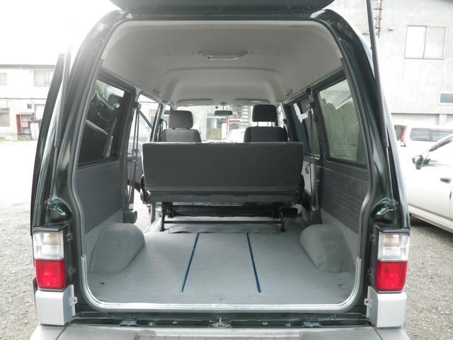 マツダ ボンゴバン 2.0DT GLスーパー低床ハイR 4WD 6名 寒冷地仕様