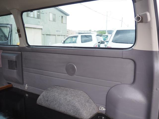 SロングGXターボ 4WD HR サビ無し本州車輌・トランポ仕様・新品AW(27枚目)