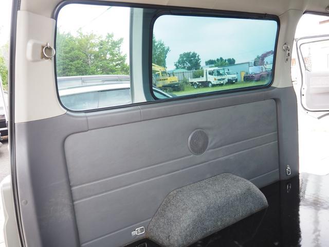 SロングGXターボ 4WD HR サビ無し本州車輌・トランポ仕様・新品AW(28枚目)