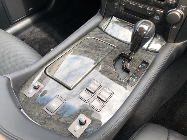 LS460 バージョンC Iパッケージ 4WD 黒革シート(11枚目)