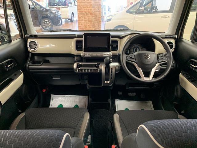 ハイブリッドMZ カーナビ地デジETCプッシュスタートLEDヘッドライト衝突軽減システムレンタカーUP4WD(11枚目)