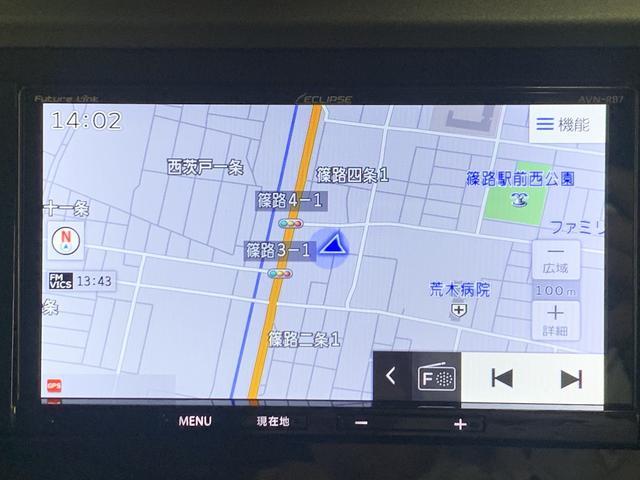 X S カーナビバックカメラパワースライドドア衝突軽減システムワイパーデアイサーパーキングソナーオートハイビームETCレンタUP(11枚目)