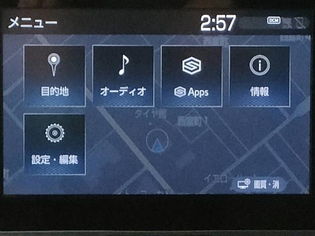 X ディスプレイオーディオナビバックカメラETC衝突軽減システムプッシュスタート4WDレンタUP(5枚目)