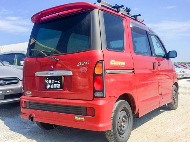 カスタムターボ 4WD 1年保証 ETC タイベル交換済(2枚目)