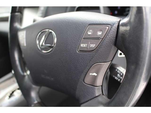 LS600hL 4WD セキュリティカメラ サンルーフ CD(9枚目)