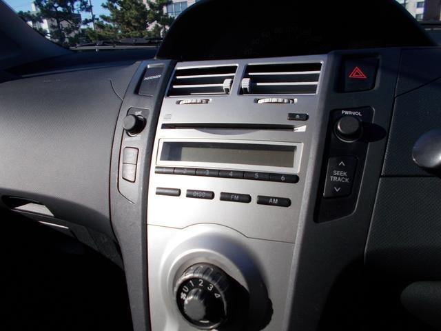 トヨタ ヴィッツ F 4WD Wエアバッグ ABS キーレス